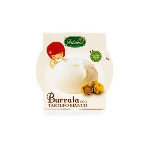 Sūris Burrata su trumais, 125g