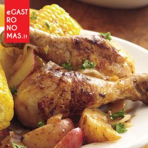 Kukurūzinis prancūziškas 35 dienų viščiukas