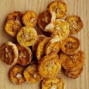 Džiovinti bananai riekelėmis, 150 g